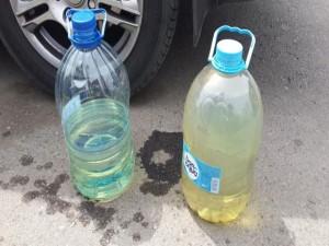 бензин в бутылке