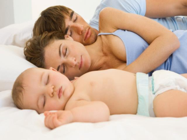 сон утором с ребенком