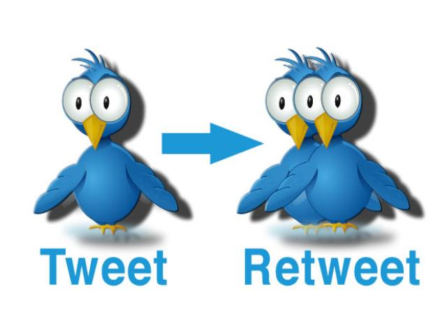 ретвит и твит