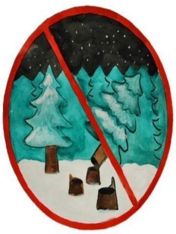 не рубить елки