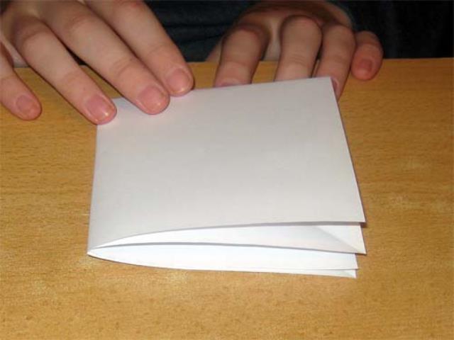 сложить бумагу