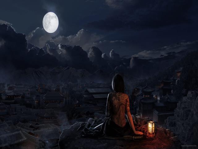 Фото на тему «Почему нельзя смотреть на луну?»