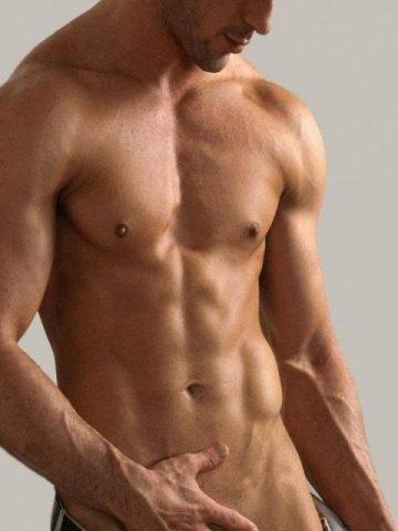 голый торс парня