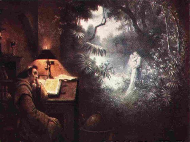 сон монаха про ангела
