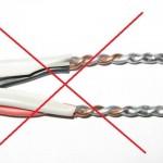 Почему нельзя соединять медный провод с алюминиевым?