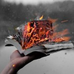 Почему нельзя держать книгу открытой?