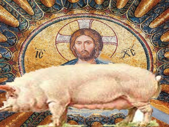 христианство и свинина