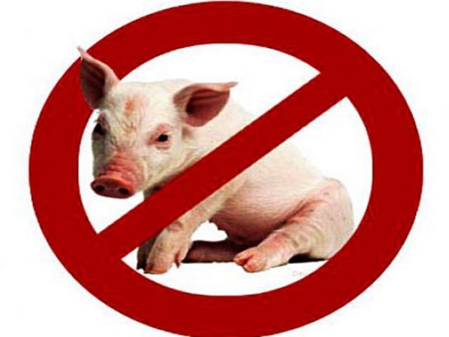 запрещена свинина