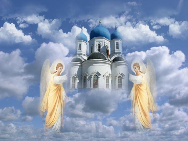 икона и церковь