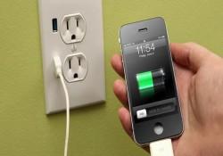 зарядить айфон