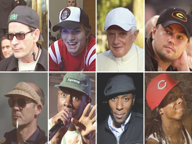 шапка на мужчинах