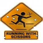 Почему нельзя бегать с ножницами?