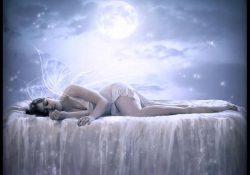 чтобы луна светила на спящего