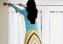 беременным вешать шторы
