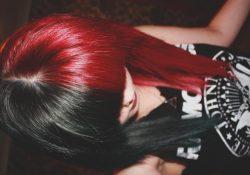 красить волосы черный цвет