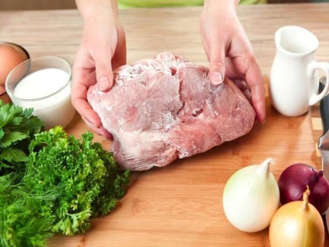 варить замороженное мясо