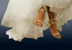 выходить замуж босоножках
