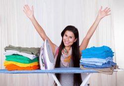 гладить постельное белье