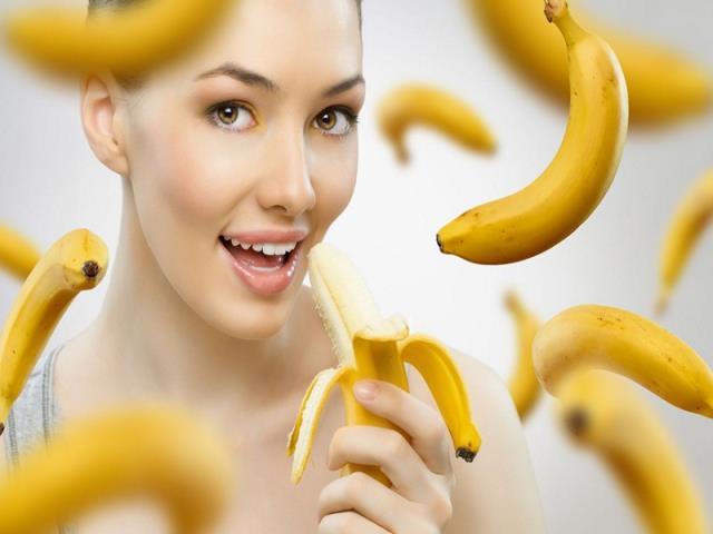 бананы и беременная девушка