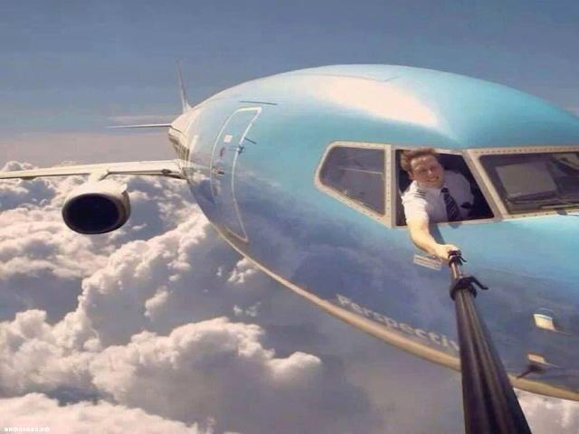 фотографировать в самолете