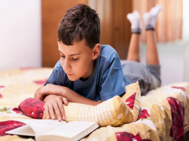 читать лежа