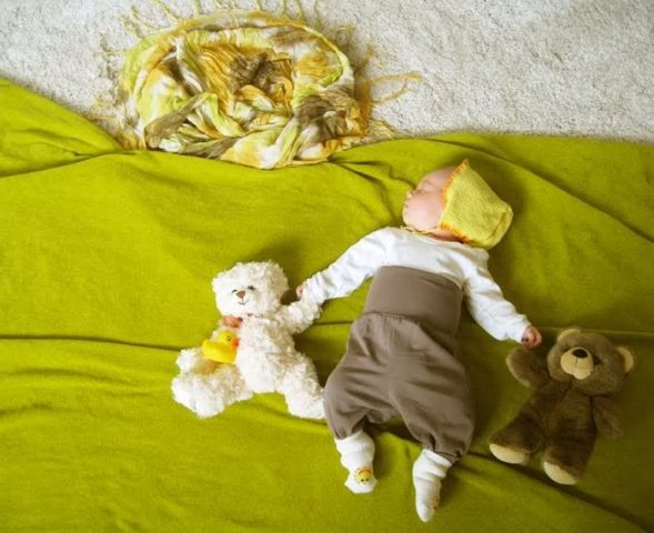 фоткать спящих детей