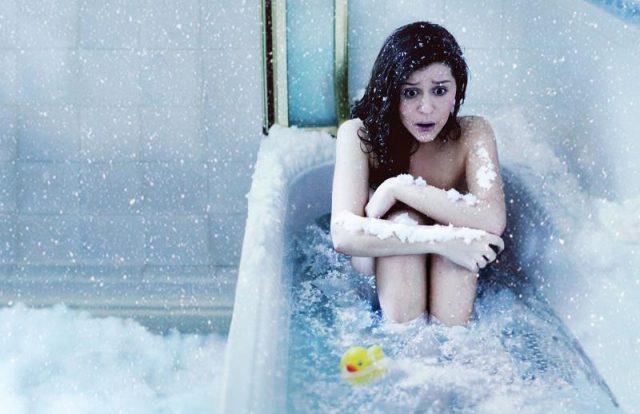 мыться при температуре