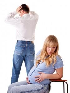 сора с мужем беременной