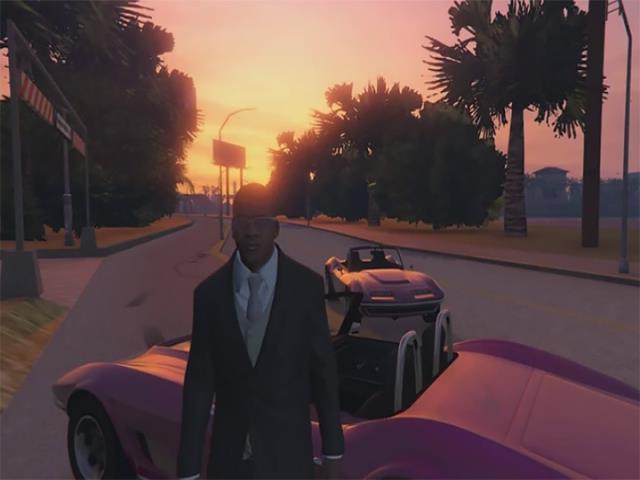 GTA VICE CITY рисунок