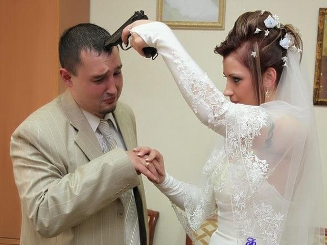 грустная свадьба