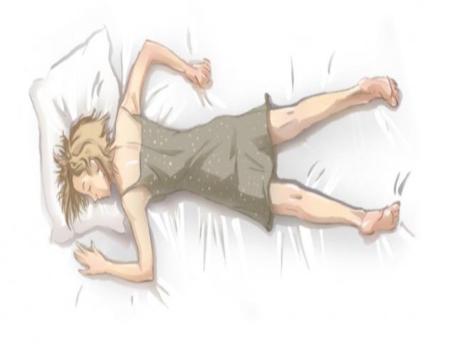 Фото на тему «Почему нельзя спать на животе?»