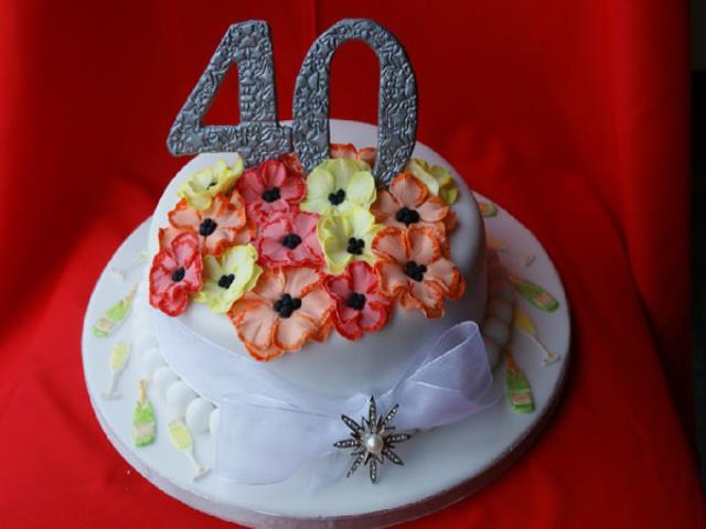 40 лет праздновать