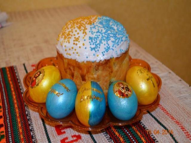 пасха и яйца