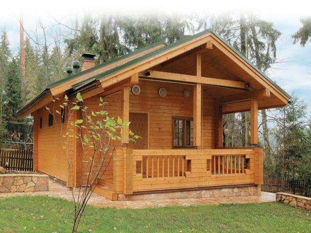 деревеный дом