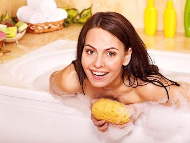 долго принимать ванну