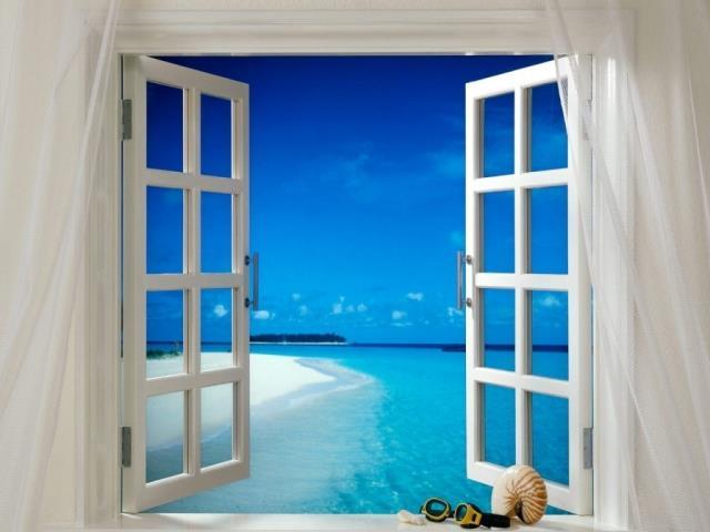 Фото на тему «Почему нельзя открывать окна когда клеишь обои?»