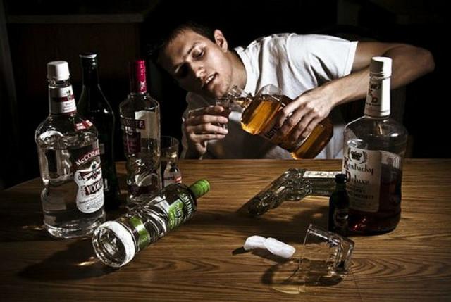 запивать алкоголь