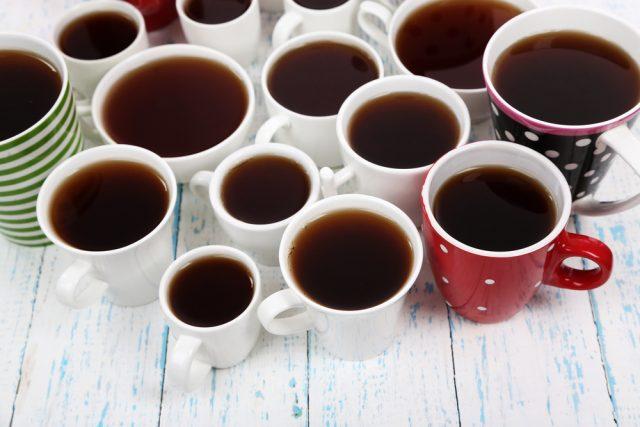 пить много чая