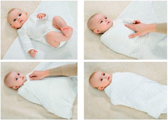 Почему нельзя пеленать новорожденного?