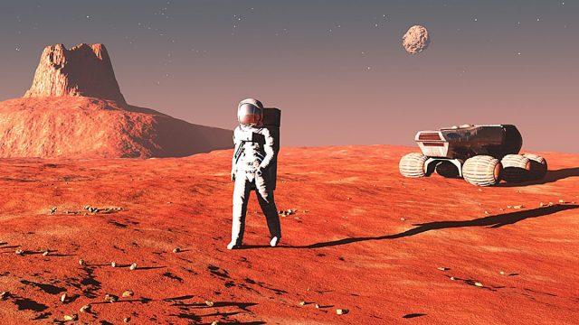 Почему нельзя жить на марсе?