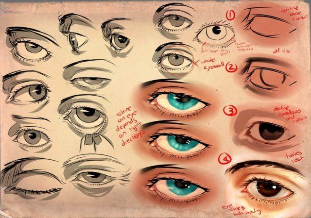 Почему нельзя рисовать глаза?
