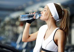 Фото на тему «Почему нельзя пить после тренировки?»
