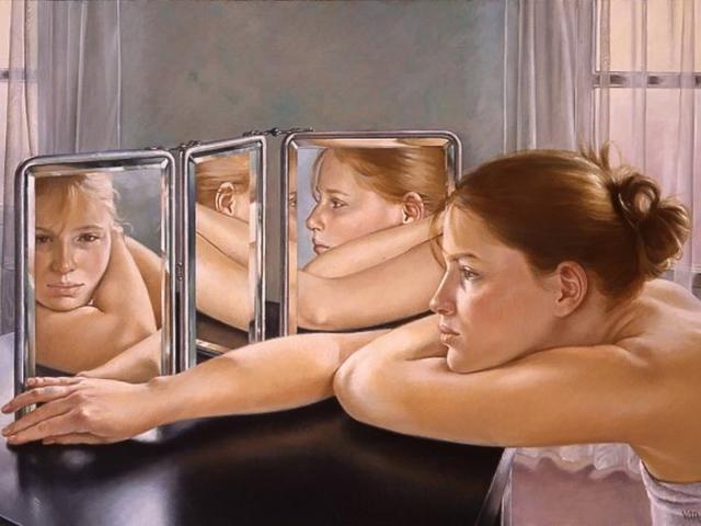 Фото на тему «Чому не можна спати перед дзеркалом?»