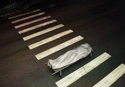 Фото на тему «Почему нельзя переходить или переезжать дорогу покойнику?»